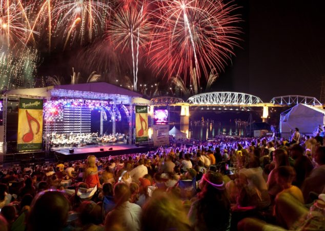 NASHVILLE JULY 4TH CELEBRATION
